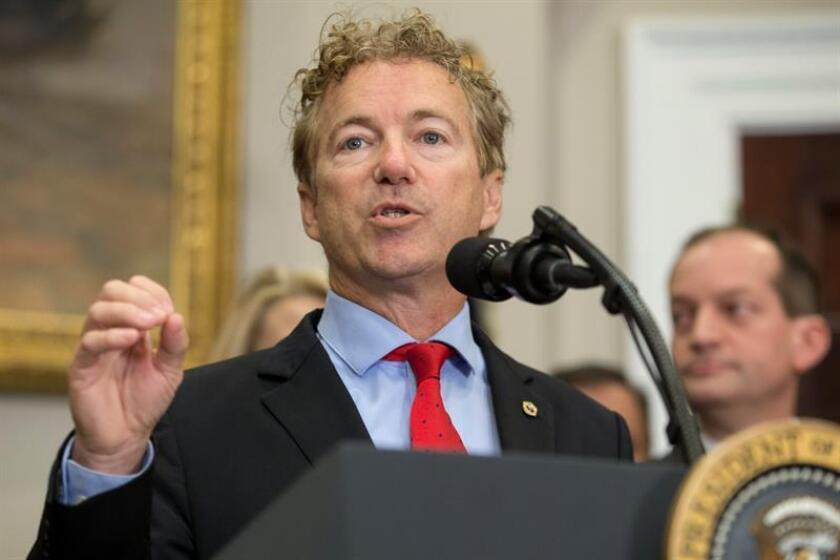 El senador republicano por Kentucky, Rand Paul. EFE/Archivo