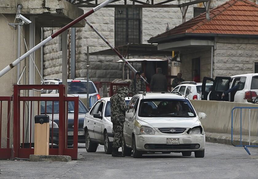 Syria-Lebanon border crossing