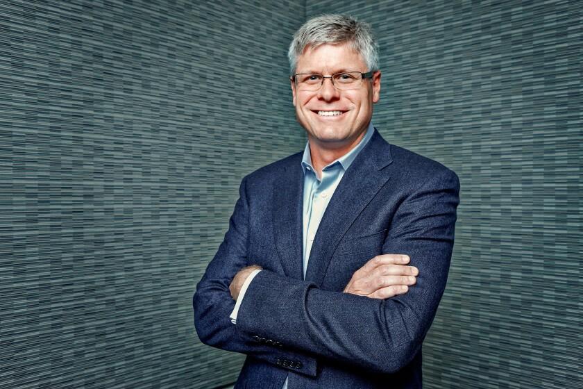 Qualcomm CEO Steve Mollenkopf will step down in June.