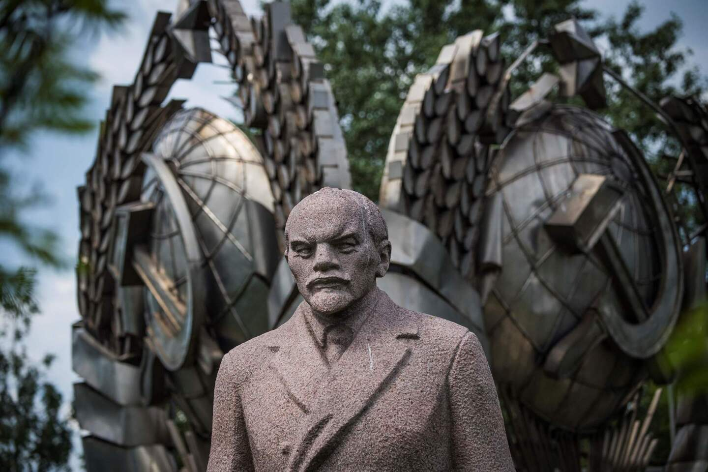 Muzeon Sculpture Park in Moscow