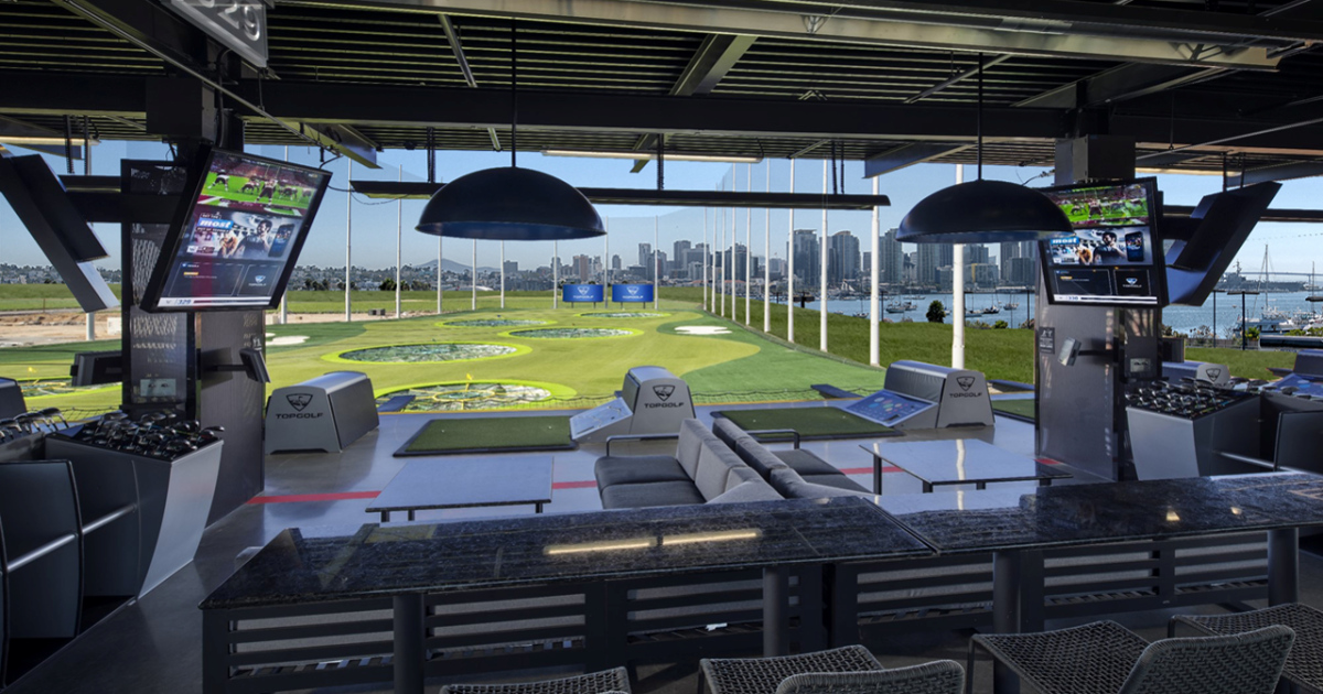 Is land on the San Diego Bay the best spot for Topgolf?