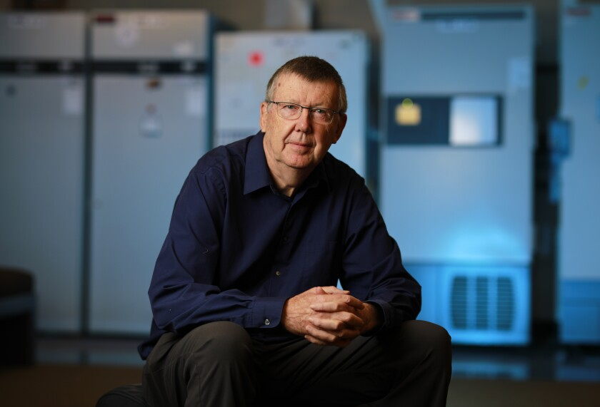 Scientist Dennis Burton, Ph.D. and chair of the department of immunology and microbiology at Scripps Research.