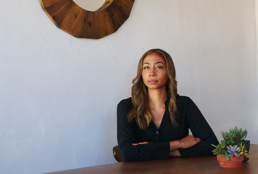 Former UCLA basketball player Kacy Swain hopes she can bring about change in the music industry.