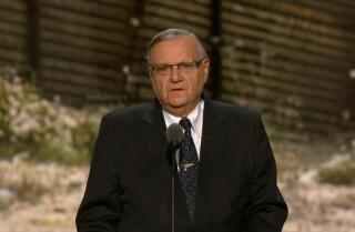 Watch Maricopa County Sheriff Joe Arpaio's Republican National Convention speech