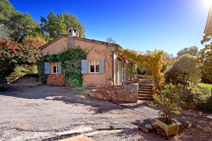 The vacation home of Julia Child in Provence, France.