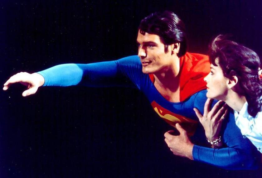Undated handout pictur shows US actors Christopher Reeve and Margot Kidder. EPA/FILE