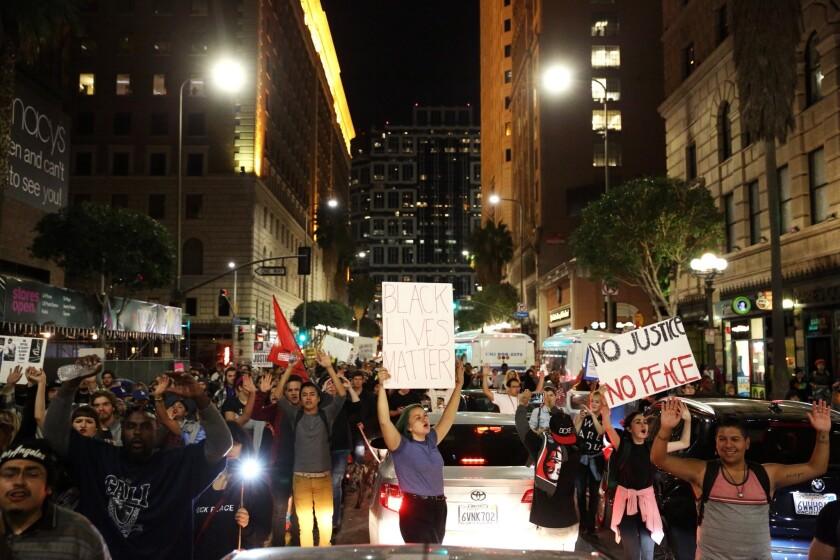 L.A. protest