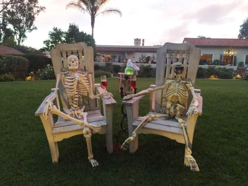 The Inn at Rancho Santa Fe is hosting its second Halloween Extravaganza featuring two nights of chilling, hair-raising fun. Courtesy photo