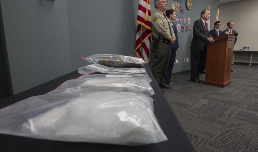 Sinaloa-backed network used FedEx to ship meth from San