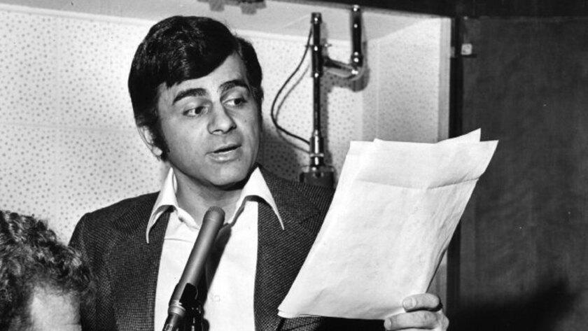 Casey Kasem makes an audition tape in 1971.