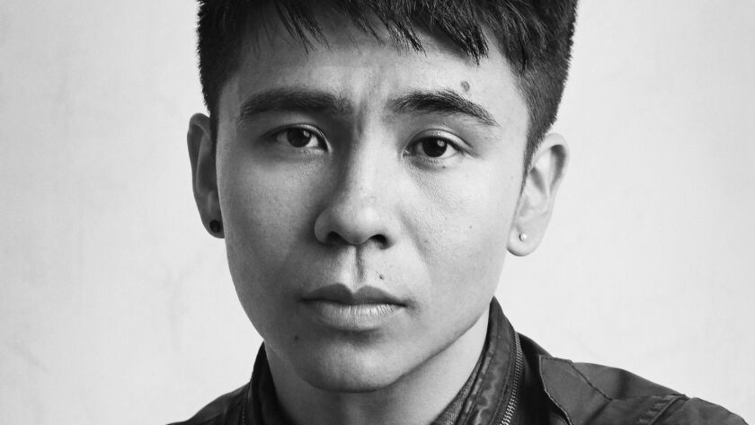 """An author photo for Ocean Vuong for his novel """"On Earth We're Briefly Gorgeous."""" Credit: Tom Hines"""