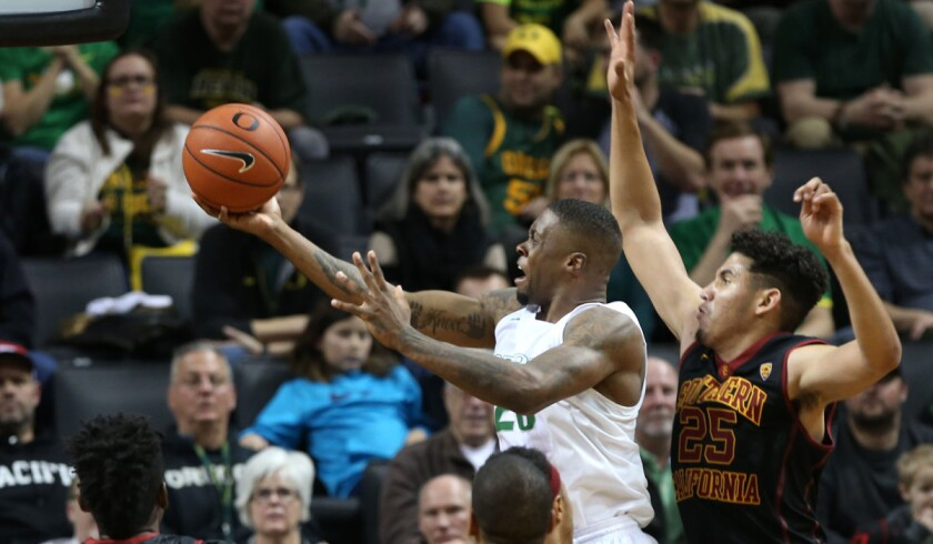 USC says win over UCLA and time off weren't to blame for loss to Oregon