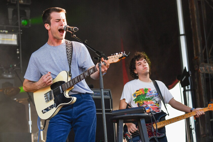 Wallows performs last year in New Orleans.