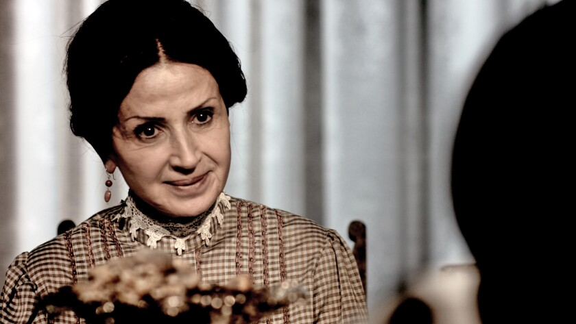 "Glendale resident Shake Tukhmanyan plays a grandmother named Anoush in the new film ""Armenia, My Love"" about the Armenian Genocide. The film premieres Thursday in Pasadena and comes to Glendale's MGN Five Star Cinema on Friday."