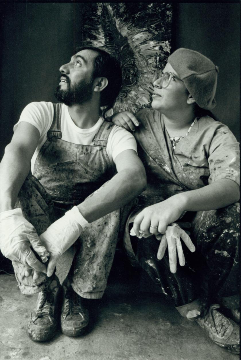 Carlos Almaraz and Elsa Flores Almaraz