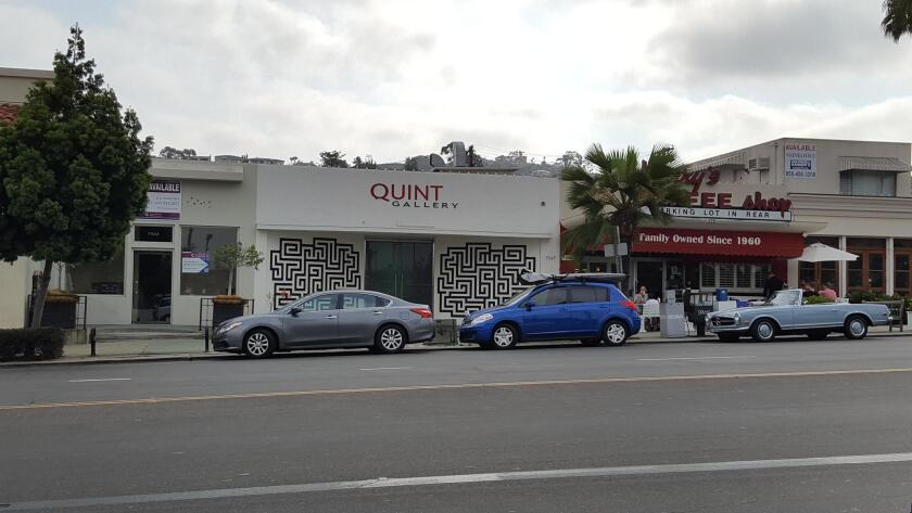 The Quint Gallery at 7547 Girard Ave. will close by the end of September.