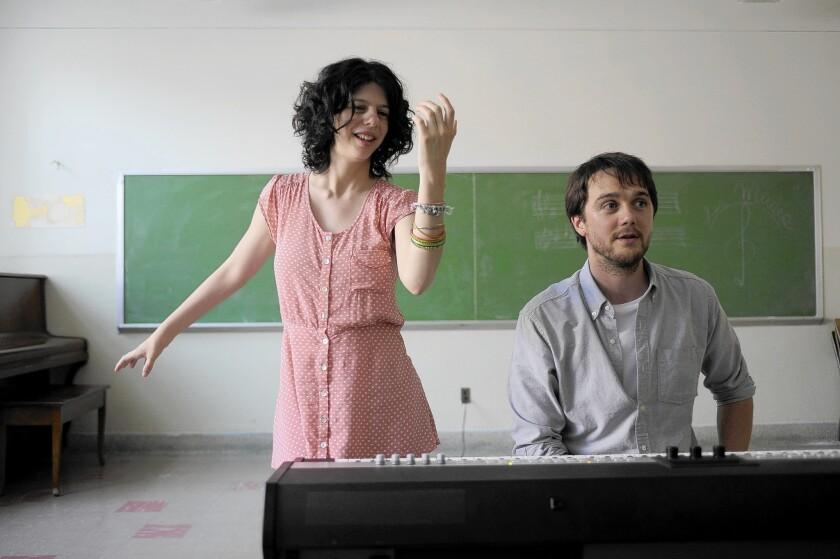 "Gabrielle Marion-Rivard and Alexandre Landry in ""Gabrielle."""