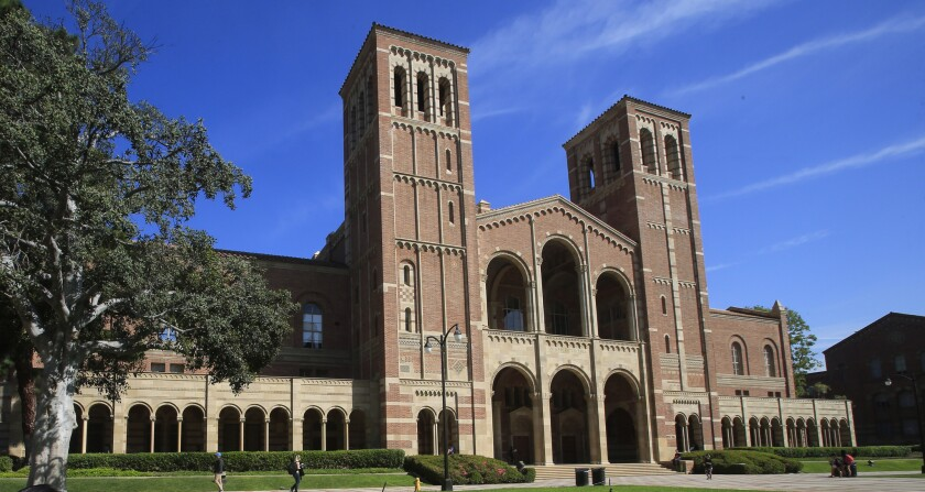 Photo of Royce Hall on the campus of UCLA, which is one of 76 colleges and universities now under federal investigation for possible violations of the Title IX equal education law.