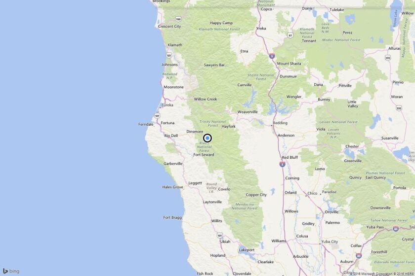 Earthquake: 4.2 quake strikes near Hayfork, Calif.