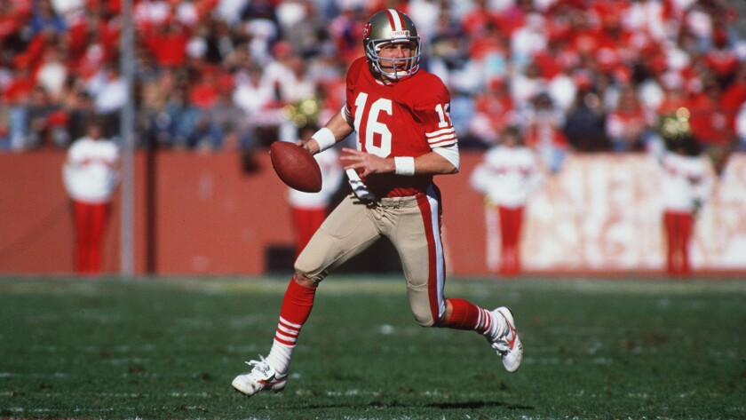 Joe Montana says 49ers players used silicone, discusses Deflategate - Los  Angeles Times