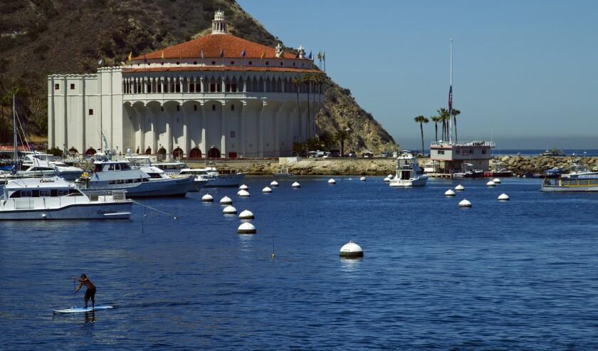 Escape to Catalina? No, it's closed up tight