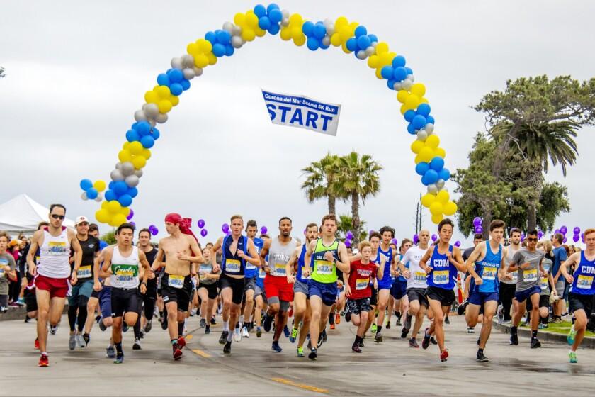 Photo gallery: Runners zip through Corona del Mar in Scenic 5K