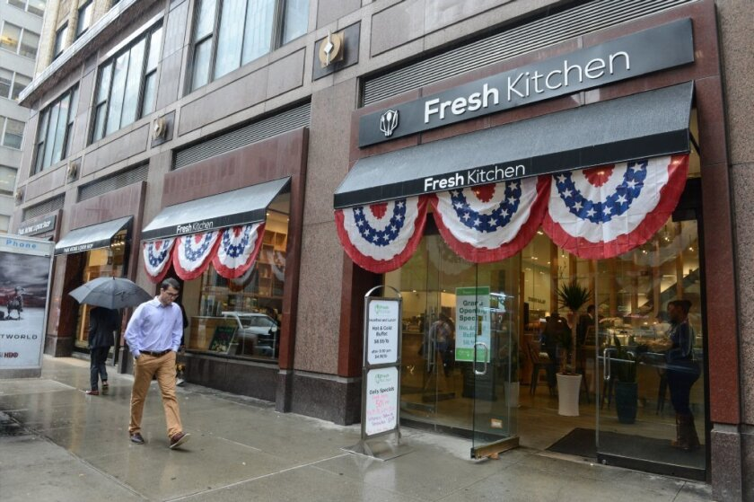 Fresh Kitchen on Madison Ave. An outraged white customer threatened to call federal immigration offi