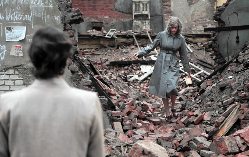 "In ""Phoenix,"" Nina Hoss, right, goes looking for links to her former, married life in prewar Germany."