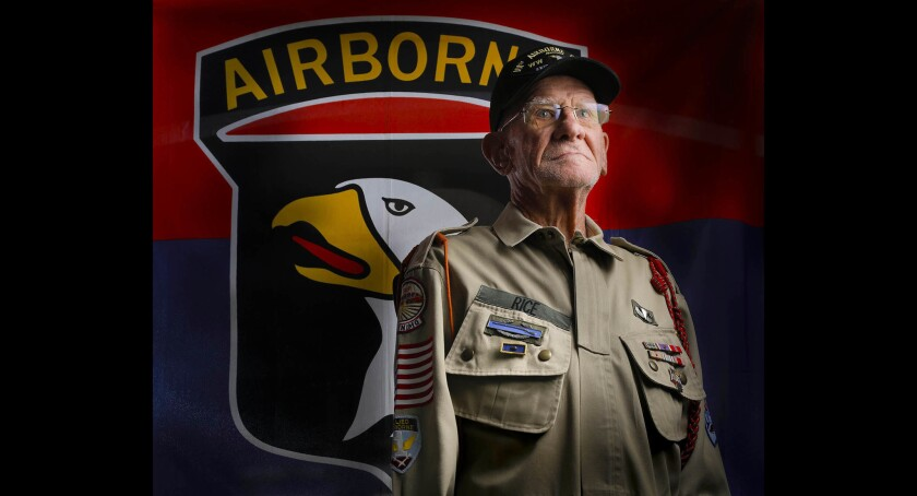 Tom Rice, D-Day paratrooper from Coronado