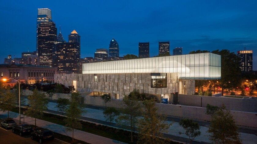 The Barnes Foundation, the Philadelphia museum designed by Tod Williams Billie Tsien Architects.