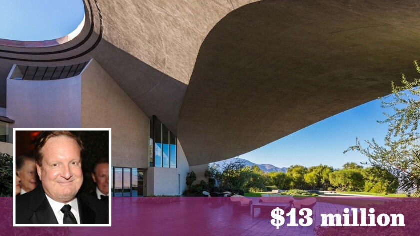Los Angeles billionaire Ron Burkle has paid $13 million for the Bob and Dolores Estate in Palm Springs.