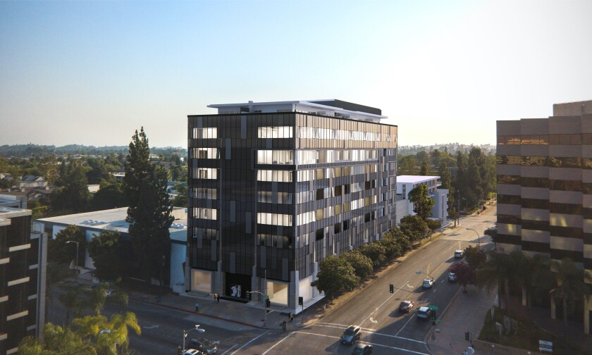 This remodeled development in Old Pasadena comes with office space and condos with sweeping views.