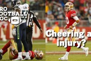 Pro Football Doc: Cheering an injury?