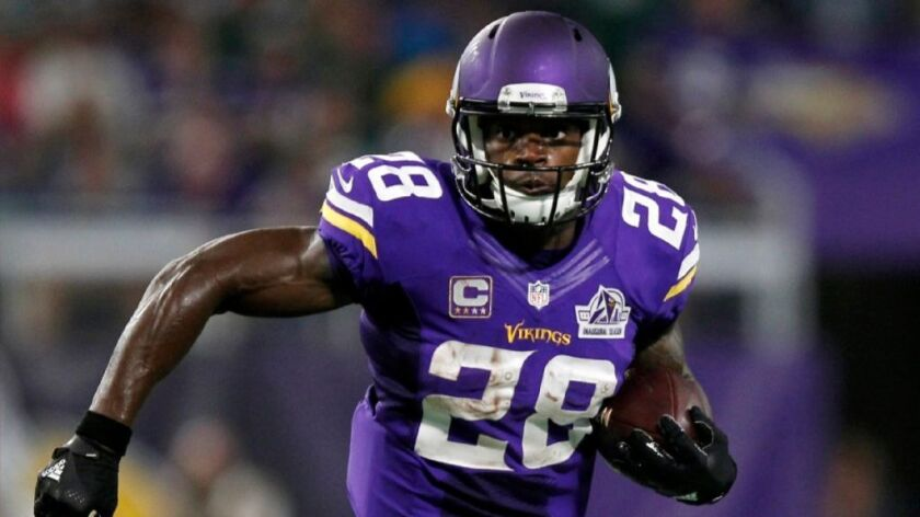 NFL: Vikings' Adrian Peterson says he'll be back Sunday against the Colts