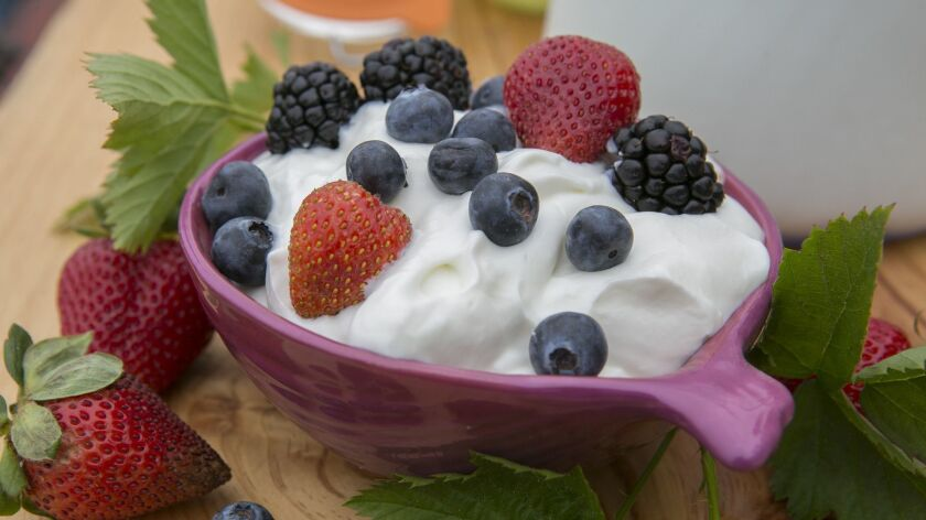 Food lead story on DIY yogurt with Jack Ford