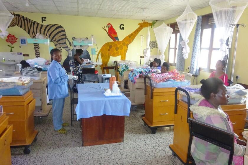 Holy Innocents Hospital ward