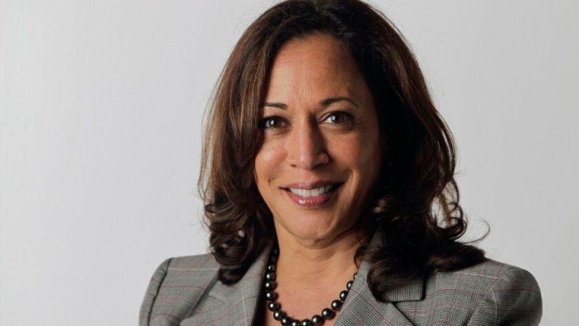 California Attorney General and Democratic candidate for U.S. Senator Kamala Harris.