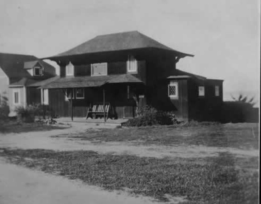 Irving Gill's Windemere Cottage, one of the state's earliest examples of Craftsman-style architecture, was demolished unexpectedly on Dec. 23, 2011. Courtesy