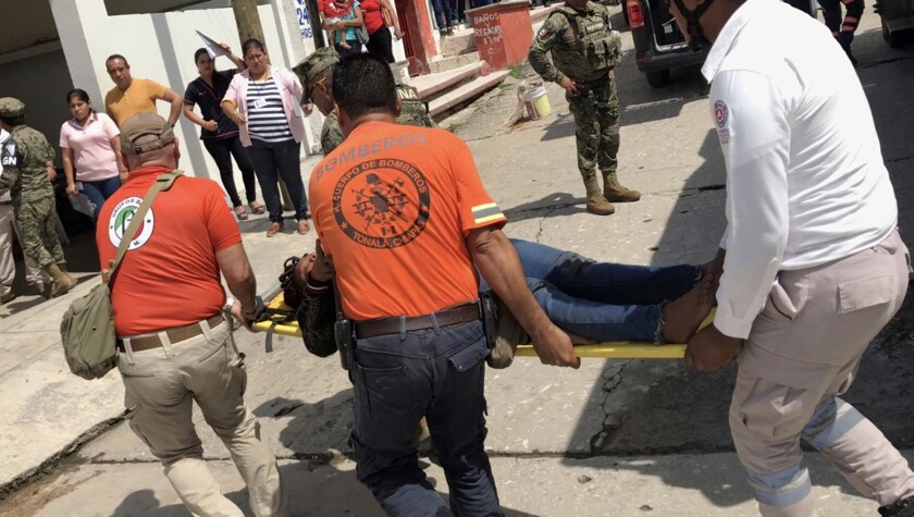 Boat with African migrants capsizes off Mexican coast
