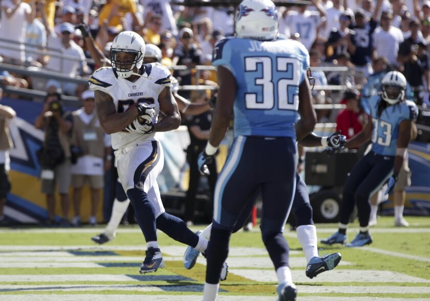 Chargers-Titans 9/16/2012