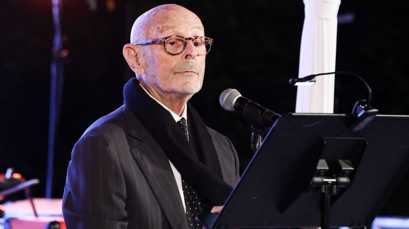 Mo Ostin at the Silverlake Conservatory of Music gala on September 29, 2018.