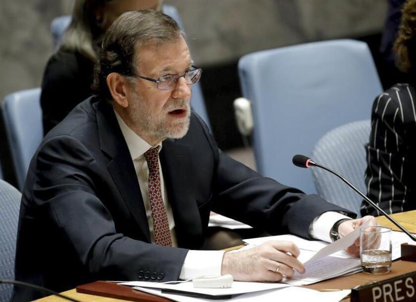 España deja hoy el Consejo de Seguridad de la ONU tras dos intensos años marcados por la guerra en Siria y en los que lideró esfuerzos en áreas como la lucha contra el terrorismo y la protección de la mujer en situaciones de conflicto. EFE/ARCHIVO