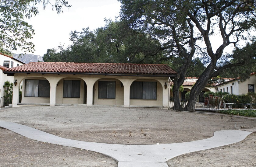 Rockhaven Sanitarium, at 2713 Honolulu Ave. in Montrose on Nov. 27, 2013.