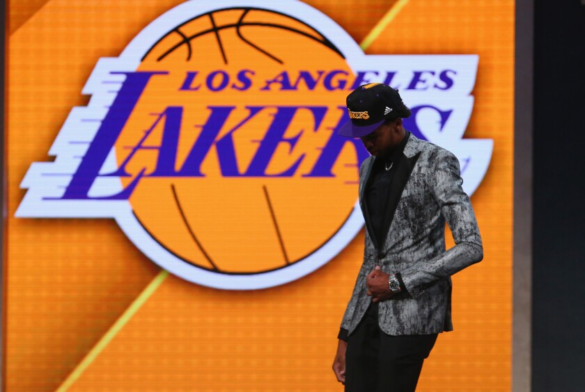 Lakers draft Ingram and start the post-Kobe era