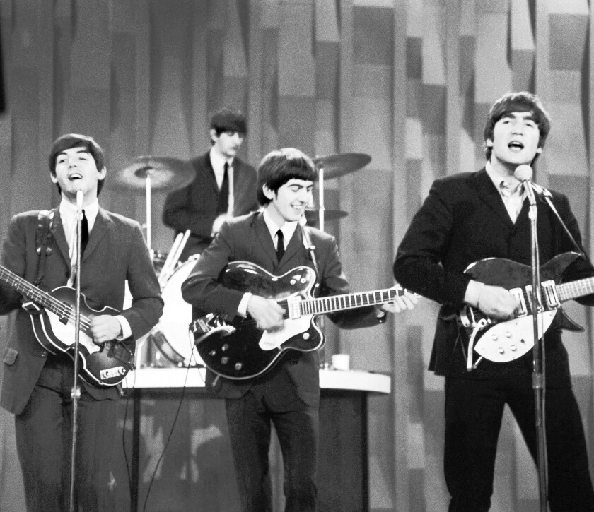 "The Beatles on ""The Ed Sullivan Show,"" 1964"