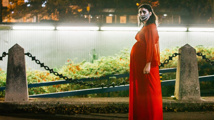 """Alice Lowe, writer, director and star of the film """"Prevenge."""""""