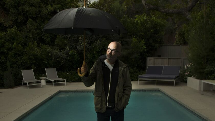 Moby is one of the guests probing the future of storytelling with Newstory at the Los Angeles Times Festival of Books.