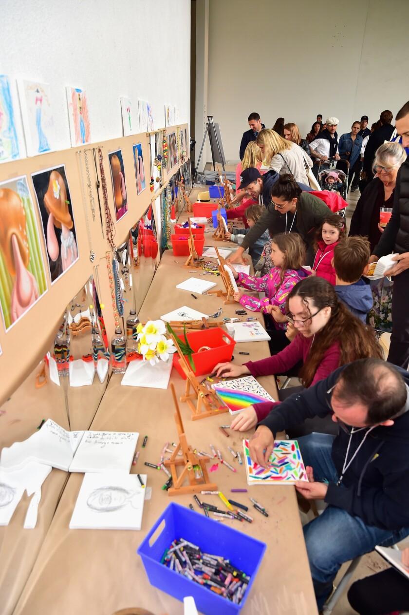 Hammer Museum K.A.M.P. (Kids' Art Museum Project) 2019
