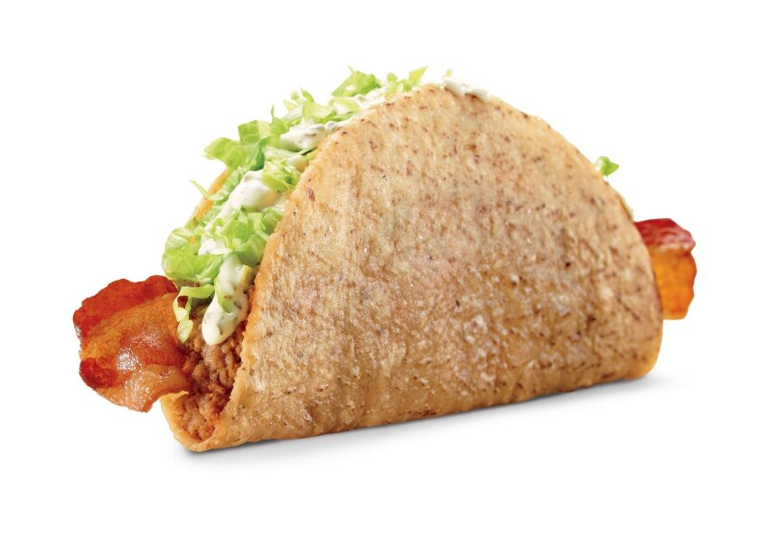 """The bacon ranch """"monster taco"""" is one of the latest additions to Jack in the Box's menu."""