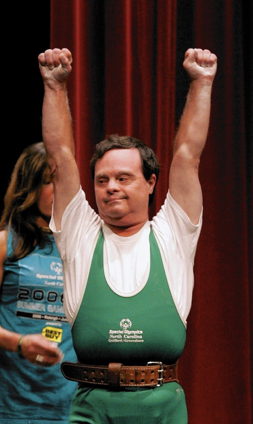 Martin Sheets became one of the most prominent Special Olympic athletes in the world, winning approximately 250 medals in a variety of sports.